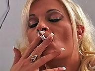 Dripping Wet Cigarette