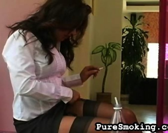 Ass, Cigarette fetish movie and Sexy