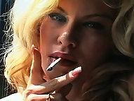 Smoker Strikes a Pose